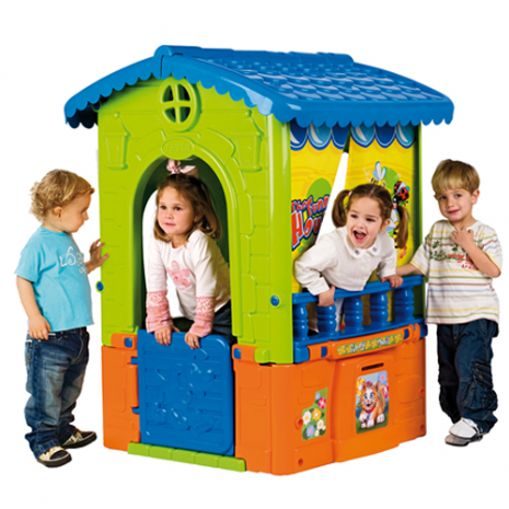 Funny Plastic Garden or Indoor Childrens Playhouse by Feber
